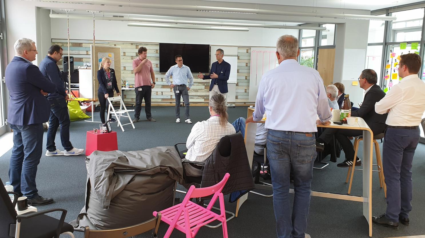 New Work bei T-Systems. Design Thinking. Team Workshop. Von Appen Consulting